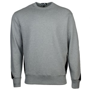 Versus Versace Panel Sweatshirt in Grey
