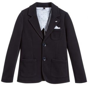 Armani Junior Blazer in Navy