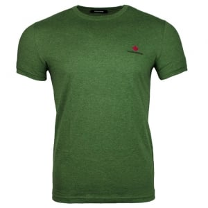 Dsquared2 Small Logo T-Shirt in Green