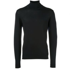Turtleneck Knitwear in Black