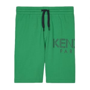 8-12 Years Bermuda Shorts in Green