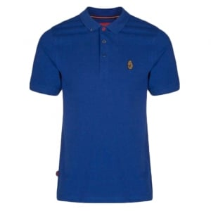 Luke Kids 2-6 Years Robbie W Polo Top in Blue