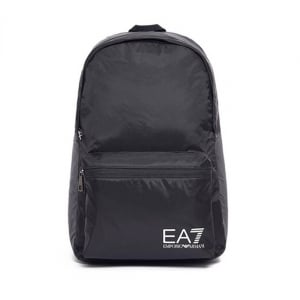 Ea7 Backpack Bag in Black