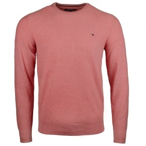 Tommy Hilfiger Rice Corn Knit in Salmon