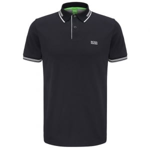Paul Polo Shirt in Black
