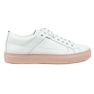 Hackney Trainers in White