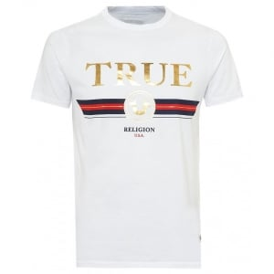 True Religion Trucci T-Shirt in White