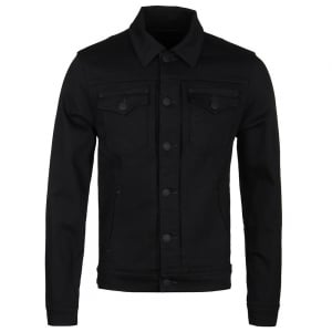 True Religion Dylan Denim Jacket in Black