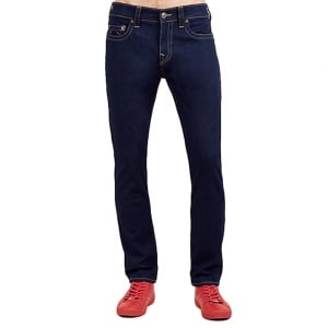"True Religion Rocco Midnight 32"" Regular Leg Jeans in Dark Wash"