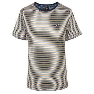 Pretty Green Feeder T-Shirt in Navy