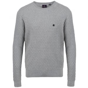 Binary Knitwear in Grey
