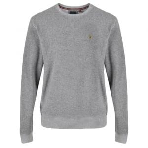 ... luke 1977 kids designer clothing stone polo  timeless design 1baa0  c465c 8-14 Years Terry Boy Sweatshirt in Grey .. ... 3685981a4196
