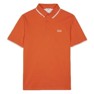 14-16 Years Core Polo in Orange