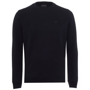 Emporio Armani Core Sweatshirt in Black