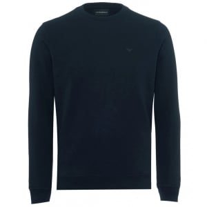 Emporio Armani Core Sweatshirt in Navy