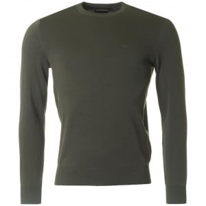 Emporio Armani Core Knitwear in Green