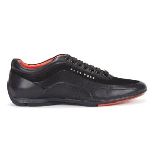 HB Racing Trainers in Black