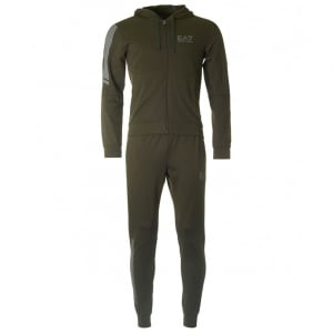Ea7 Tracksuit in Green