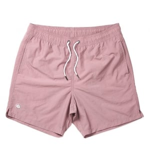 Logo Swim Shorts in Pink