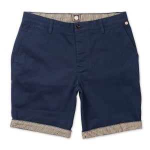 Cotton City Shorts in Navy