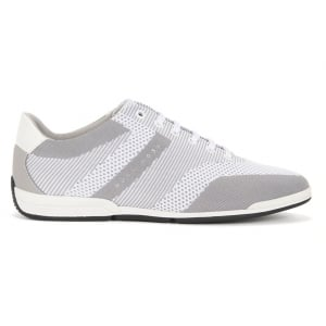 Saturn_Lowp_Knit Trainers in Light Grey