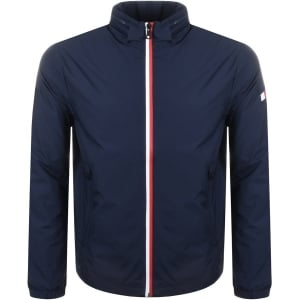 Tommy Hilfiger Nylon Full Zip Jacket in Navy