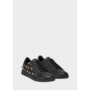 Versus Versace Spike Stud Trainers in Black