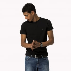 Tommy Hilfiger Core Tee in Black