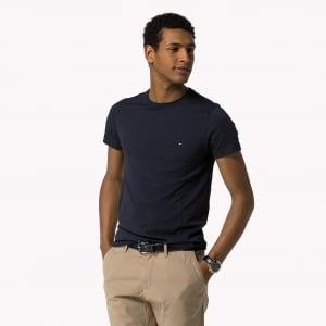 Tommy Hilfiger Core Tee in Navy
