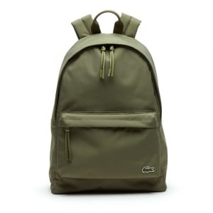 Lacoste Accessories Neocroc Backpack in Khaki