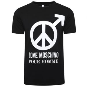 Love Moschino Pour Homme T-Shirt in Black