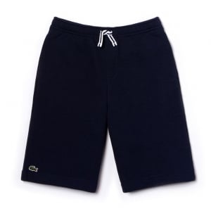 Lacoste Kids 8-12 Years Knit Shorts in Navy