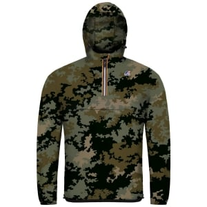K-way Le Vrai 3.0 Leon Jacket in Camouflage