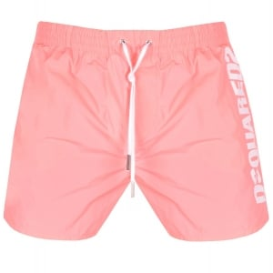 Dsquared2 Sidelogo Swim Shorts in Pink