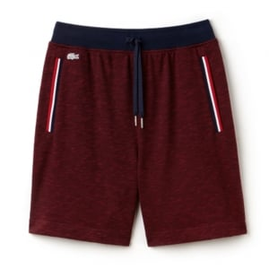 Lacoste Lounge Shorts in Dark Red