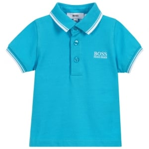 12-18 Months Baby Polo Top in Turquoise