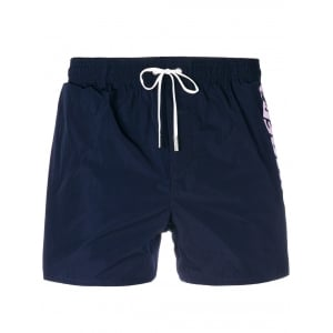 Dsquared2 Side Logo Swim Shorts in Navy