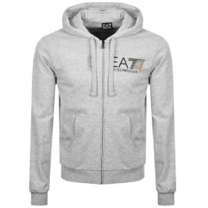 ea7 big logo hoodie