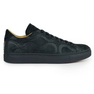 Vivienne Westwood Squiggle Low-Top Trainers in Black