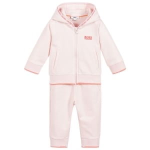 3-18 Months Baby Tracksuit in Pink