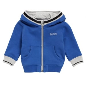 12-18 Months Hooded Sweatshirt in Blue