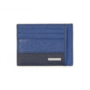 Signature_S Cardholder Wallet in Blue