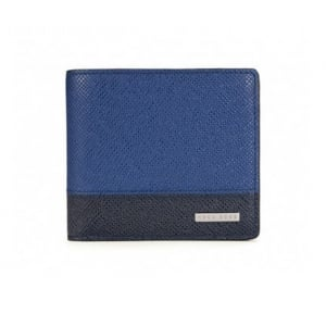 Signature_8 Wallet in Blue and Black