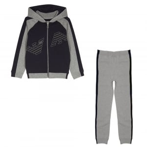 Armani Junior 4-10 Years AJ Tracksuit in Navy