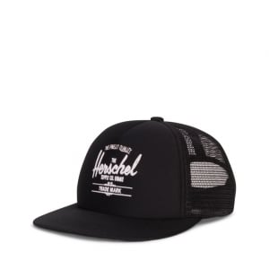 Whaler Youth Cap in Black