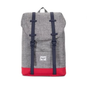 Retreat Youth Backpack in Grey