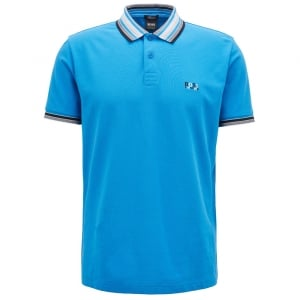 Paddy 1 Polo Shirt in Bright Blue