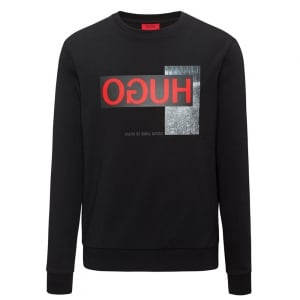 Dicago-U1 Sweatshirt in Black