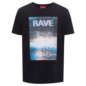 Dafe T-Shirt in Black
