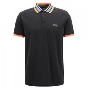 Boss Athleisure Paddy 1 Polo Shirt in Black
